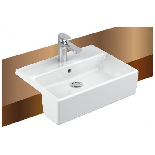 Villeroy & Boch Memento Semi Recessed - 550 x 420mm