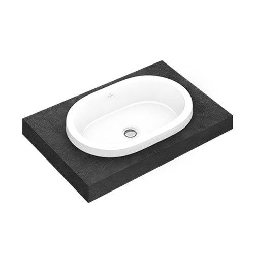 Villeroy & Boch Architectura Drop In Washbasin – Oval – 61.5 x 41.5cm