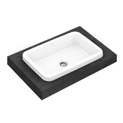 Villeroy & Boch Architectura Drop In Washbasin – Rectangle – 61.5 x 41.5cm