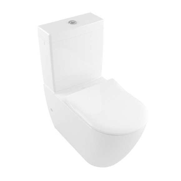 Villeroy & Boch Subway 2.0 Back to Wall Suite with Slim Seat