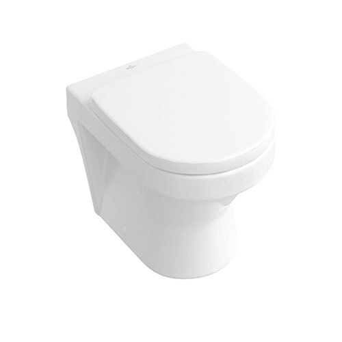 Villeroy & Boch Architectura Back to Wall P Trap Pan for In Wall Cisterns
