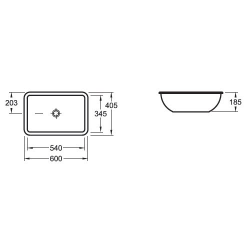 Villeroy Amp Boch Loop Undercounter Basin Outer Edge 600 X