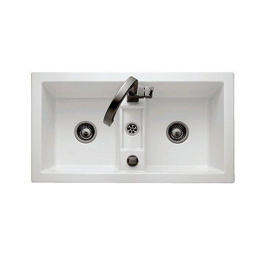 Villeroy & Boch Kitchen Sink - Subway 80 - Built-In Double Bowl ...
