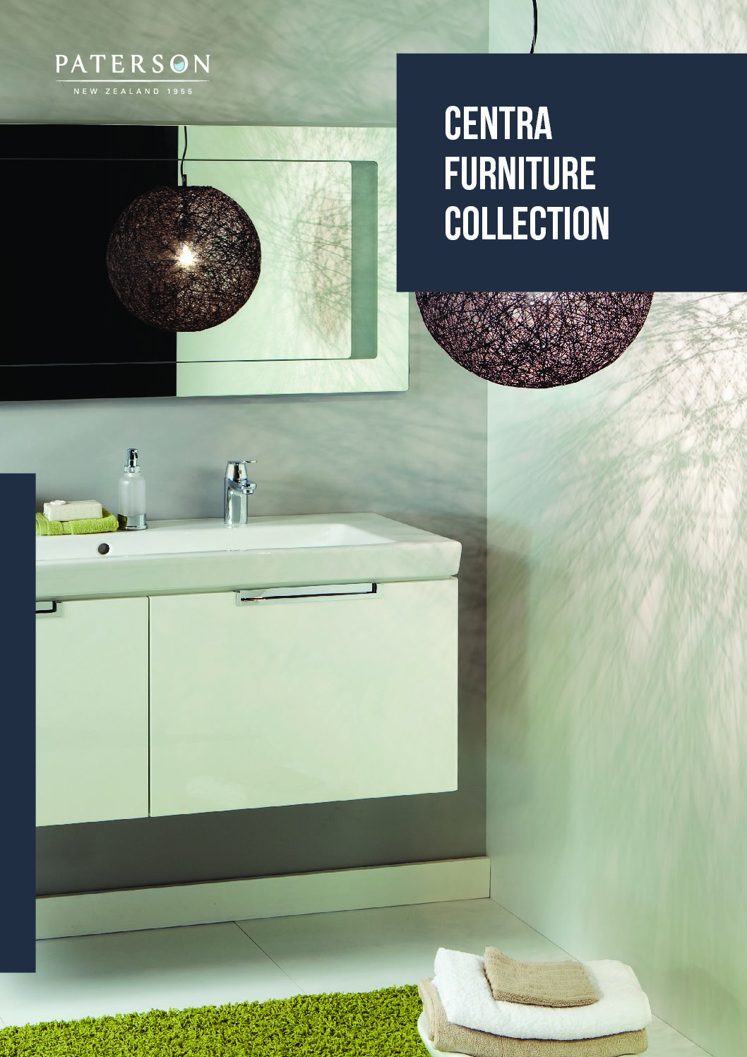 Paterson Centra Furniture Collection • - NZ Suppliers of bathroom ...