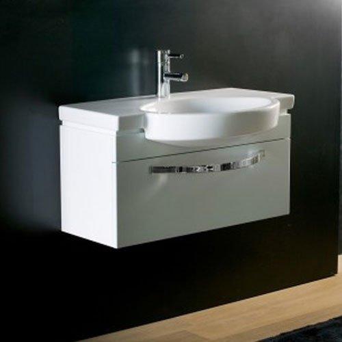 Villeroy U0026 Boch Variable Opus 800mm White 1 Drawer Vanity U0026 Washbasin U2013  Code 5153 A1 01
