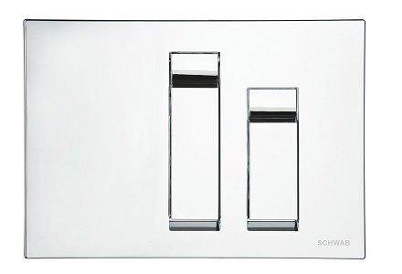 Schwab Vivo Push Plates - NZ Suppliers of bathroom and kitchen ware, taps, basins, toilets and ...