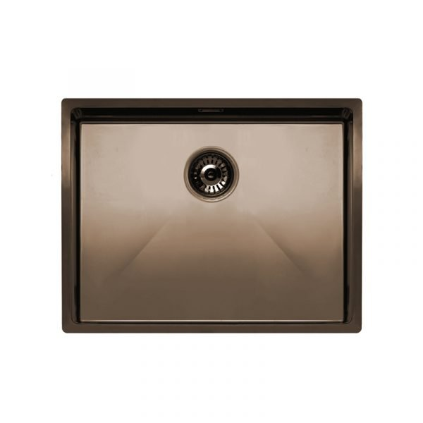 Nivito Copper Sink (590x440) - NZ Suppliers of bathroom and kitchen ...